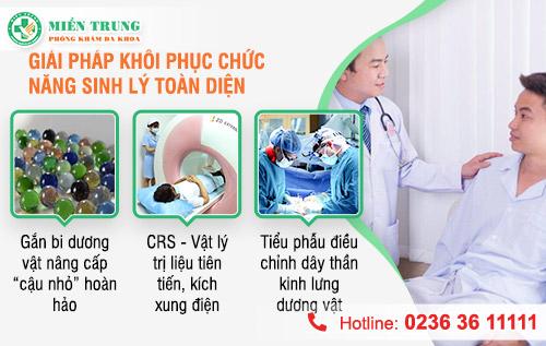 Hỗ trợ tăng cường và cải thiện chức năng sinh lý nam giới tại Đà Nẵng