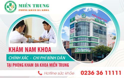 Khám nam khoa ở đâu tốt tại Đà Nẵng? Bật mí mức chi phí khám hiện nay